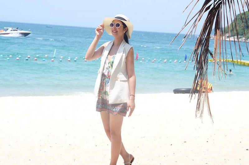 trang phục du lịch Cù Lao Chàm